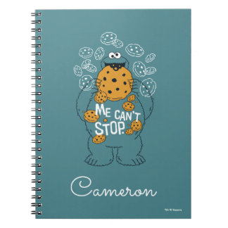 Sesame Street | Cookie Monster - Me Can't Stop Notebook