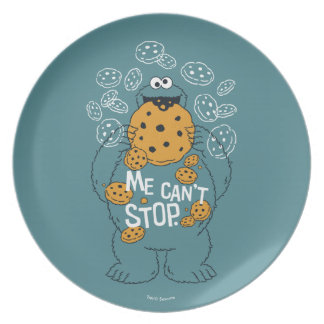 Sesame Street | Cookie Monster - Me Can't Stop Plate