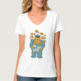 Sesame Street | Cookie Monster - Me Can't Stop T-Shirt