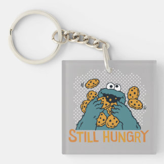 Sesame Street | Cookie Monster - Still Hungry Double-Sided Square Acrylic Key Ring