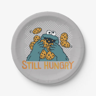 Sesame Street | Cookie Monster - Still Hungry Paper Plate
