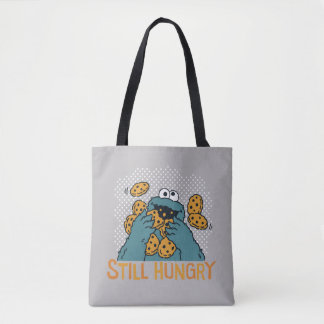 Sesame Street | Cookie Monster - Still Hungry Tote Bag