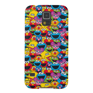 Sesame Street Crew Pattern Cases For Galaxy S5