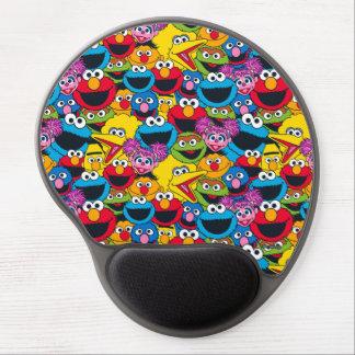 Sesame Street Crew Pattern Gel Mouse Pad