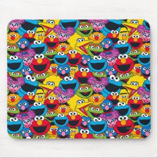 Sesame Street Crew Pattern Mouse Pad