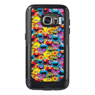 Sesame Street Crew Pattern OtterBox Samsung Galaxy S7 Case
