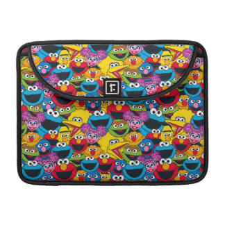 Sesame Street Crew Pattern Sleeve For MacBook Pro