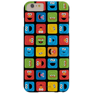 Sesame Street Cubed Faces Pattern Barely There iPhone 6 Plus Case