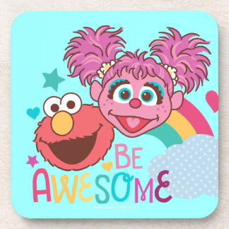 Sesame Street | Elmo & Abby - Be Awesome Coaster