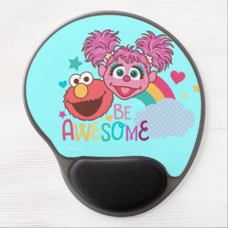 Sesame Street   Elmo & Abby - Be Awesome Gel Mouse Pad