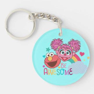 Sesame Street | Elmo & Abby - Be Awesome Key Ring