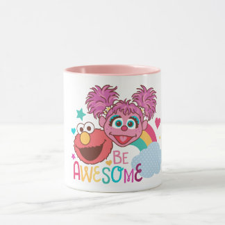 Sesame Street | Elmo & Abby - Be Awesome Mug
