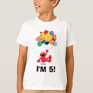 Sesame Street | Elmo and Pals - Birthday Balloons T-Shirt