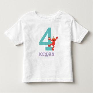 Sesame Street | Elmo - Confetti 4th Birthday Toddler T-Shirt