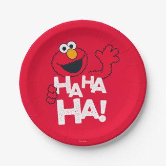 Sesame Street | Elmo - Ha Ha Ha! 7 Inch Paper Plate