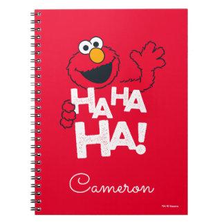 Sesame Street   Elmo - Ha Ha Ha! Notebook