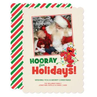 Sesame Street | Elmo Holiday with Photo Card
