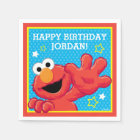Sesame Street | Elmo - Polka Dot & Stars Birthday Disposable Napkin