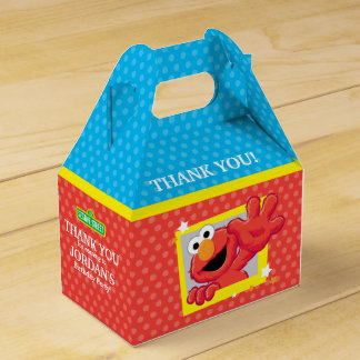 Sesame Street | Elmo - Polka Dot & Stars Birthday  Favour Box