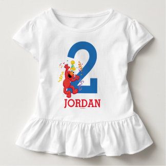 Sesame Street | Elmo - Rainbow 2nd Birthday Toddler T-Shirt
