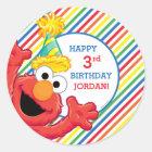 Sesame Street | Elmo - Rainbow Birthday Classic Round Sticker