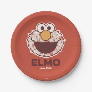 Sesame Street | Elmo Since 1984 7 Inch Paper Plate
