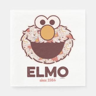 Sesame Street | Elmo Since 1984 Disposable Serviette