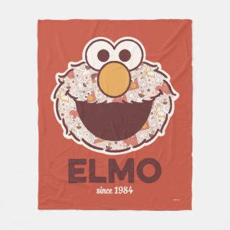 Sesame Street   Elmo Since 1984 Fleece Blanket