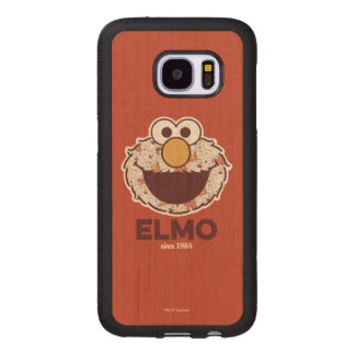 Sesame Street | Elmo Since 1984 Wood Samsung Galaxy S7 Case