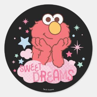 Sesame Street | Elmo - Sweet Dreams Classic Round Sticker