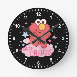 Sesame Street | Elmo - Sweet Dreams Round Clock