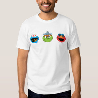 Sesame Street Emoji Pals Tees