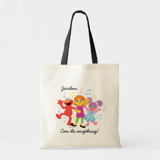 Sesame Street | Julia, Elmo & Abby Dancing Tote Bag