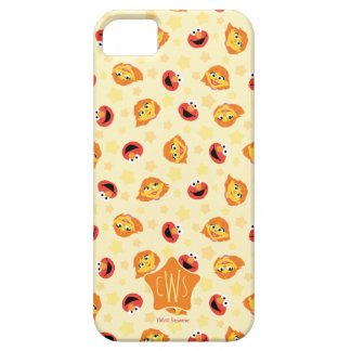 Sesame Street | Julia & Elmo Yellow Star Pattern Case For The iPhone 5