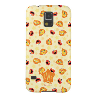 Sesame Street | Julia & Elmo Yellow Star Pattern Galaxy S5 Case