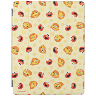 Sesame Street | Julia & Elmo Yellow Star Pattern iPad Cover