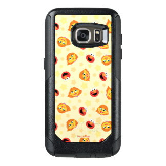 Sesame Street | Julia & Elmo Yellow Star Pattern OtterBox Samsung Galaxy S7 Case