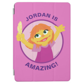 Sesame Street | Julia Holding Feather iPad Air Cover
