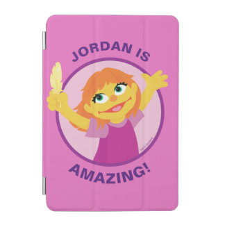 Sesame Street | Julia Holding Feather iPad Mini Cover
