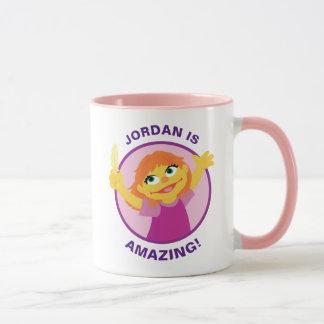 Sesame Street | Julia Holding Feather Mug