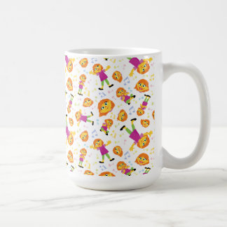 Sesame Street | Julia Music Pattern Coffee Mug
