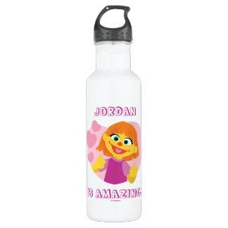 Sesame Street | Julia Pink Heart 710 Ml Water Bottle