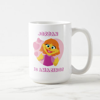 Sesame Street | Julia Pink Heart Coffee Mug