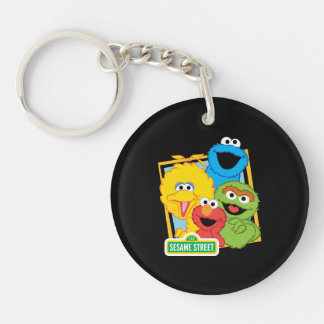 Sesame Street Pals Key Ring