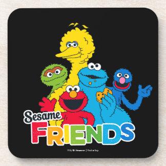 Sesame Street   Sesame Friends Coaster