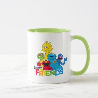 Sesame Street   Sesame Friends Mug
