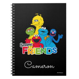Sesame Street   Sesame Friends Notebook