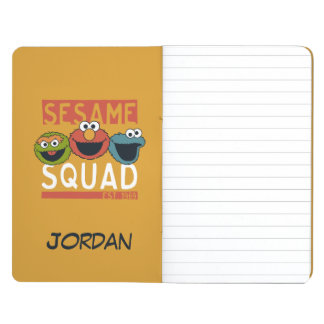 Sesame Street - Sesame Squad | Add Your Name Journal