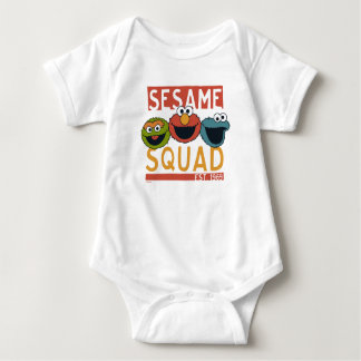 Sesame Street - Sesame Squad Baby Bodysuit