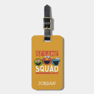 Sesame Street - Sesame Squad Luggage Tag